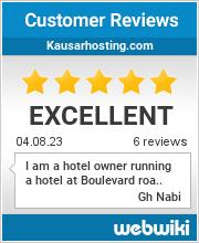 Reviews of https://www.kausarhosting.com