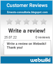 Reviews of ernesto-consultoria.blogspot.com