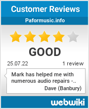 Reviews of paformusic.info