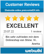 Reviews of sheinside-online.preisvorteil24.info