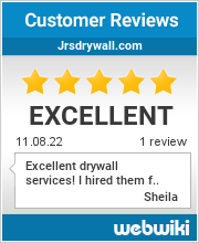 Reviews of jrsdrywall.com