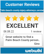 Reviews of palm-beach-county-injury-attorneys.uwstart.nl