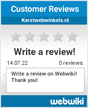 Reviews of kerstwebwinkels.nl
