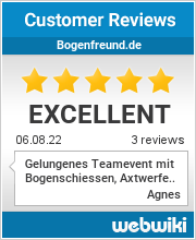 Reviews of bogenfreund.de