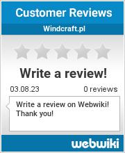 Reviews of windcraft.pl