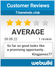 Reviews of titanwinds.club