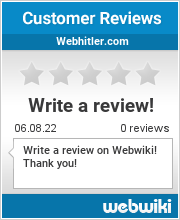 Reviews of webhitler.com