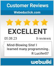 Reviews of webeduclick.com