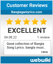 Reviews of banglaganlyrics.com