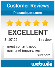 Reviews of picsandquote.com