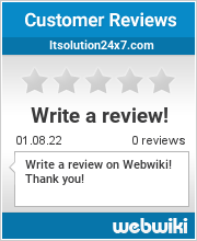 Reviews of itsolution24x7.com