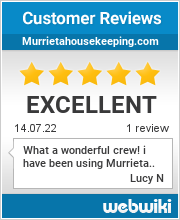 Reviews of murrietahousekeeping.com