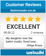 Reviews of ballettstudio-ost.de