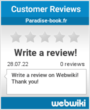 Reviews of paradise-book.fr