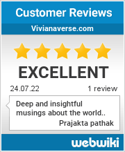 Reviews of vivianaverse.com