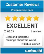 Reviews of vivianaverse.com