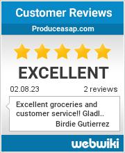 Reviews of produceasap.com