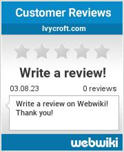Reviews of ivycroft.com