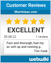Reviews of murrietaac.com