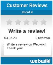 Reviews of ielcot.ir
