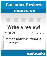 Reviews of brandmody.com