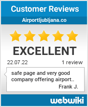 Reviews of airportljubljana.co
