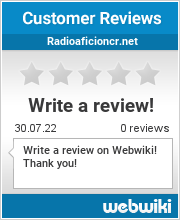 Reviews of radioaficioncr.net