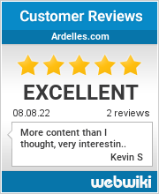 Reviews of ardelles.com