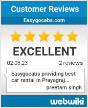 Reviews of easygocabs.com