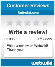Reviews of uniteditf.com