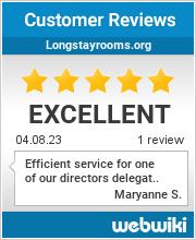 Reviews of longstayrooms.org