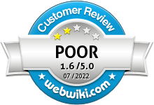 registerbyinternet.com Rating