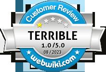jetsetmorris.co.uk Rating